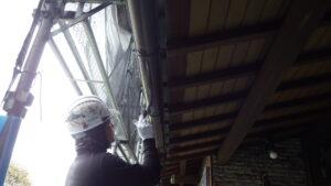 堺市 外壁塗装 雨樋