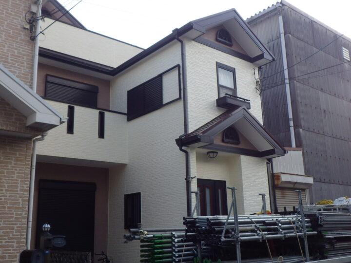 大阪堺市I様邸 外壁・屋根塗装