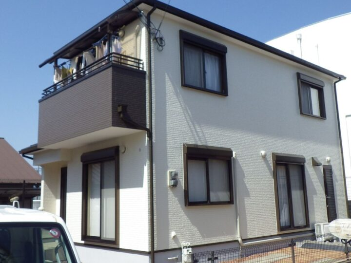 大阪堺市K様邸 外壁・屋根塗装