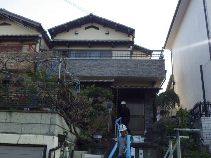大阪堺市H様邸  外壁塗装