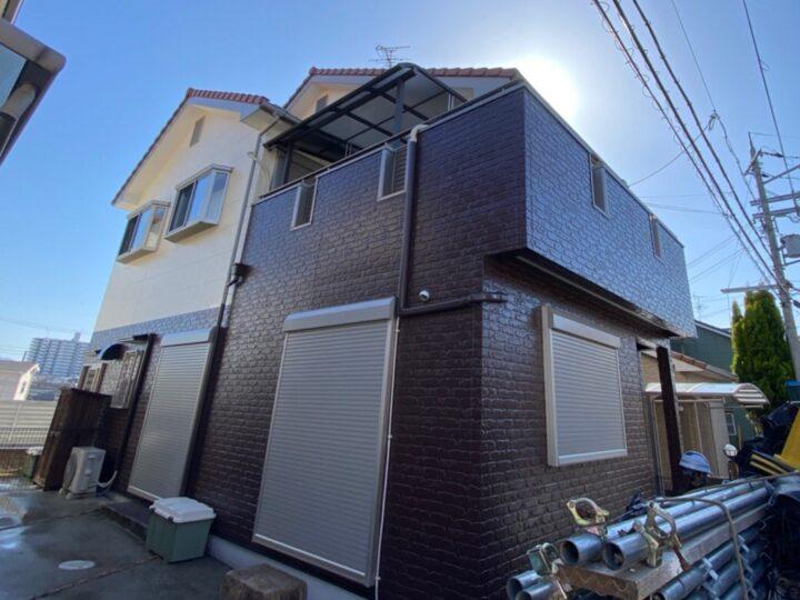 S様邸 外壁 塗装工事