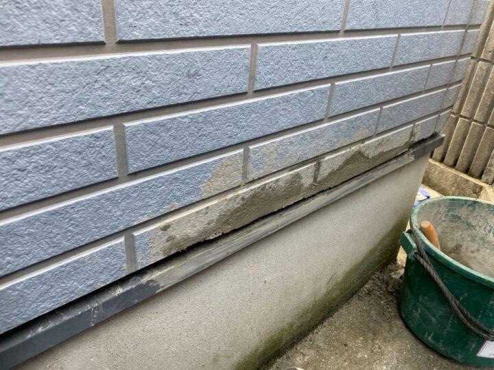 外壁 下地補修前