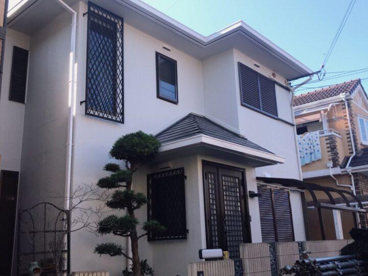 大阪堺市T様邸  外壁・屋根塗装