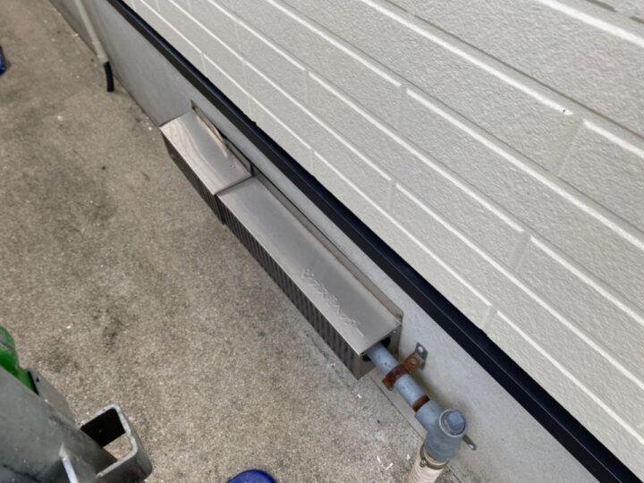 外壁 下地補修・塗装後