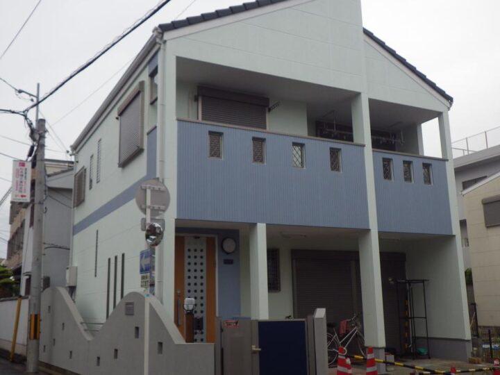 大阪堺市S様邸 外壁・屋根塗装