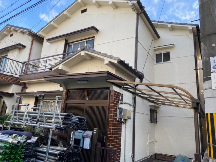 大阪堺市Y様邸 外壁・屋根塗装