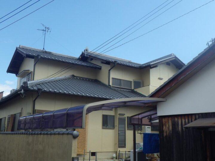 大阪堺市E様邸 外壁・屋根塗装
