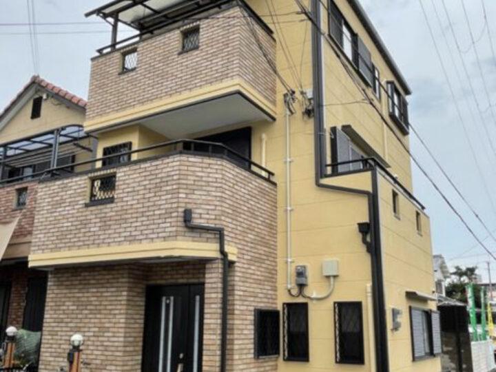 大阪八尾市M様邸 外壁塗装
