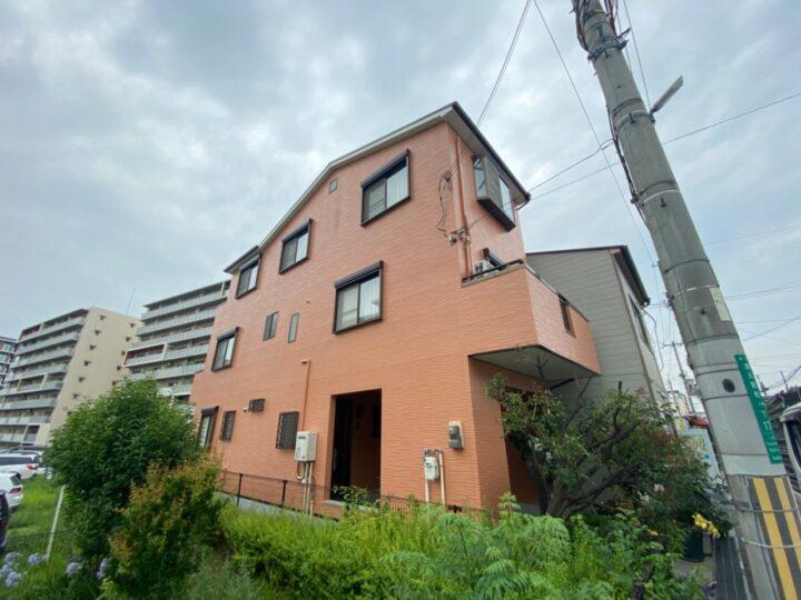 大阪堺市H様邸 外壁・屋根塗装
