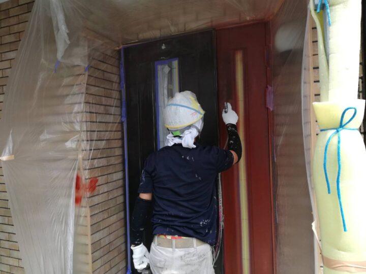 ドア 上塗りスプレー